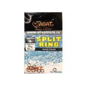 Кольцо заводное Agat Split Ring AG 6008 / Black