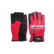 Перчатки Wonder красные без пальцев WG-FGL 033 L