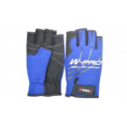 Перчатки Wonder синие без пальцев WG-FGL 054 XL