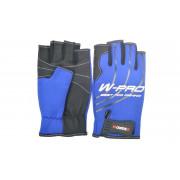 Перчатки Wonder синие без пальцев WG-FGL 052