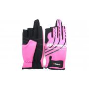 Перчатки Wonder розовые WG-FGL 081 S