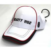 Бейсболка Hearty Rise продуваемая ткань белая