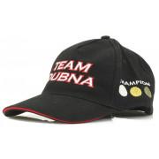 Бейсболка Team Dubna продуваемая ткань чёрная