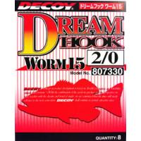 Крючок Decoy Dream Hook Worm 15 #6