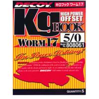 Крючок Decoy KG Hook Worm 17 #2/0