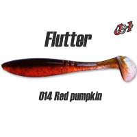 """Виброхвост Jig It Flutter 4.4"""" #014 squid"""