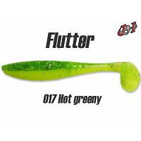 """Виброхвост Jig It Flutter 3.2"""" #017 squid"""