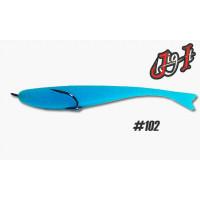 Поролоновая рыбка Jig It 125 #102 пакет 4 шт