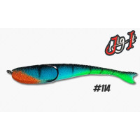 Поролоновая рыбка Jig It 105 #114 блистер 10 шт