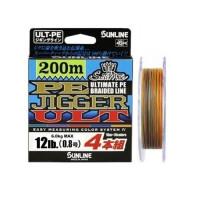 Шнур Sunline PE Jigger ULT 4braid 200m #0.8