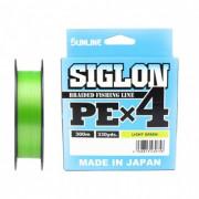 Шнур Sunline Siglon PEx4 Light Green 300m