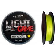 Шнур Tokuryo Light Game X4 braid Yellow 150m